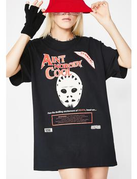 Death Face Short Sleeve Tee by Aint Nobody Cool
