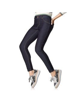 Plus Essential Denim Leggings by Hue