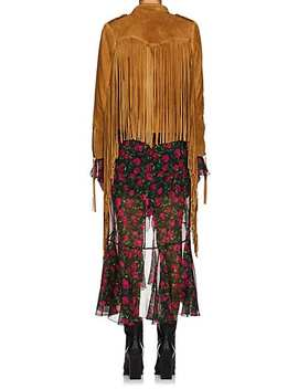 Fringed Suede Western Jacket by Faith Connexion