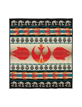 The Last Jedi Blanket Throw by Pendleton