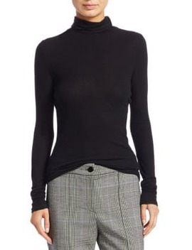 Slim Mockneck Sweater by Theory