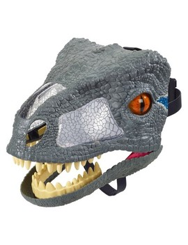 "Jurassic World Velociraptor ""Blue"" Chomp 'n Roar Mask by Shop All Jurassic World"
