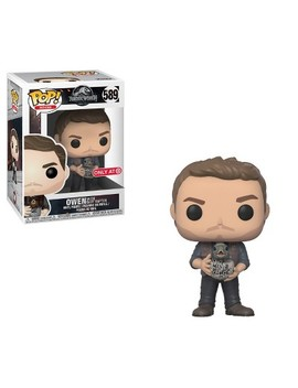 Funko Pop Movies: Jurassic World 2   Owen With Baby Raptor by Shop All Funko