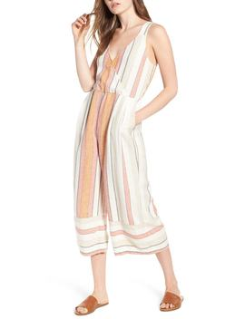 Stripe Surplice Jumpsuit by Bp.