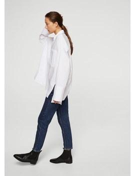 Oversize Cotton Shirt by Mango