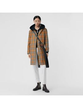 Rainbow Vintage Check Car Coat by Burberry
