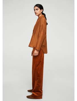 Oversize Shirt Openings by Mango