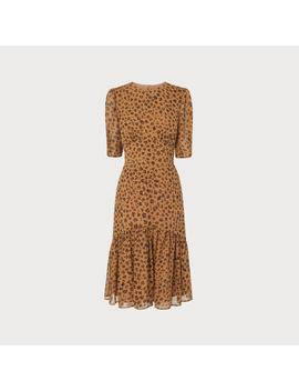 Alexa Animal Print Silk Dress by L.K.Bennett