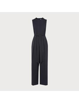 Elani Navy Jumpsuit by L.K.Bennett