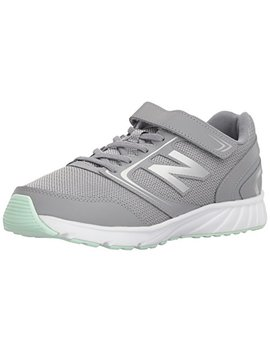 New Balance Kids' 455v1 Hook And Loop Running Shoe by New+Balance