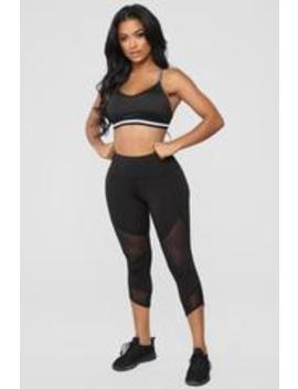 Record Breaker Active Leggings   Black by Fashion Nova