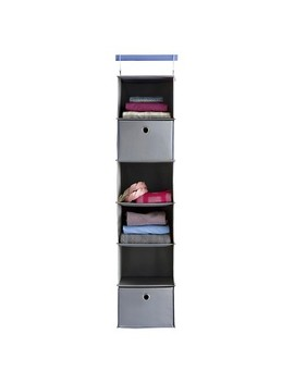 6 Shelf Hanging Closet Organizer Gray   Room Essentials™ by Shop This Collection