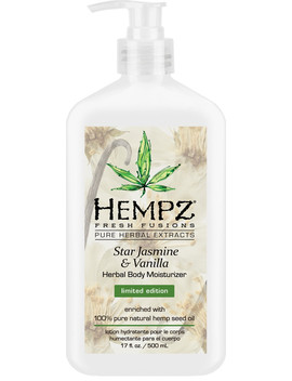 Star Jasmine & Vanilla Herbal Body Moisturizer by Hempz