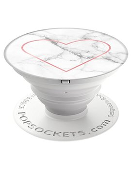 Pop Sockets 707171 : Expanding Grip And Stand For Smartphones And Tablets   Stony Heart by Pop Sockets