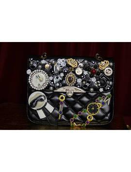 Embellished Brooches  Little Me Shoulder Handbag by Festy Designs