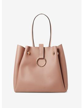 Rose Metal Hoop Tote Bag by Dorothy Perkins