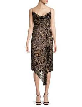 Emilia Leopard Print Dress by Misha Collection