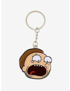 Rick And Morty Morty Metal Key Chain by Hot Topic