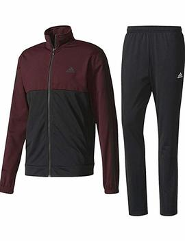 Adidas Performance Men's Athletics Back 2 Basics 3 Stripes Two Piece Tricot Tracksuit by Adidas