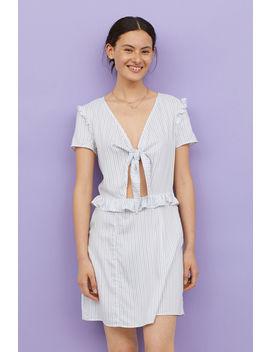 Kleid Mit Bindebändern by H&M