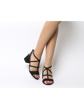 Monarch Caged Block Heels by Office