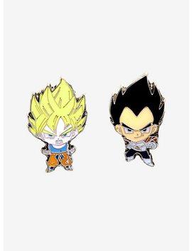 Dragon Ball Z Enamel Pin Set by Hot Topic