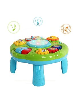 Hanmun Musical Learning Table Baby Toy   Electronic Education Toys For Toddlers Early Development Activity Toy By (Green) by Hanmun