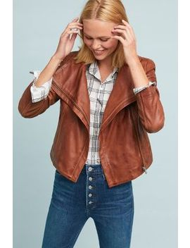 Lamarque Talia Leather Jacket by Lamarque