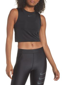 Running Division Women's Cropped Running Top by Nike