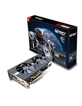 Sapphire Radeon Rx 570 Nitro+ 8 Gb Gddr5 2x Dp/2x Hdmi/Dvi D Graphics Card   Black by Sapphire