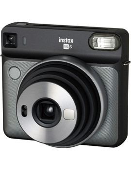 Instax Square Sq6 Instant Film Camera (Graphite Gray) by Fujifilm