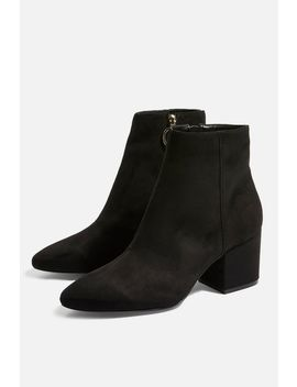 Brandy Micro Ankle Boots by Topshop