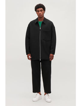 Oversized Jersey Jacket by Cos