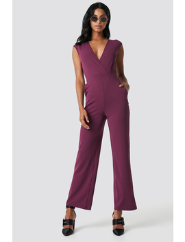 Overlap Wide Leg Jumpsuit by Na Kd