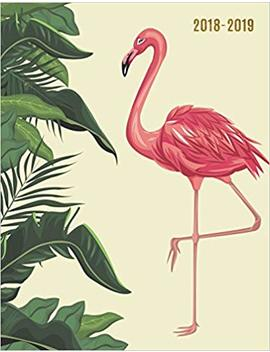 2018 2019: Tropical Flamingo 18 Month Weekly Planner || July 2018   Dec 2019 Weekly View || To Do Lists, Inspirational Quotes + Much More: Volume 8 (18 Month Planners) by Pretty Planners