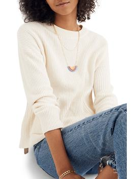 Patch Pocket Pullover Sweater by Madewell