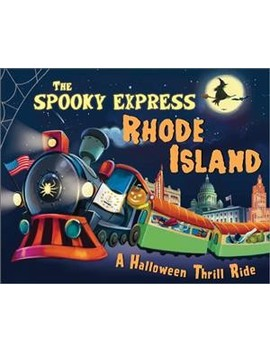 Spooky Express Rhode Island    By Eric James (Hardcover) by Target