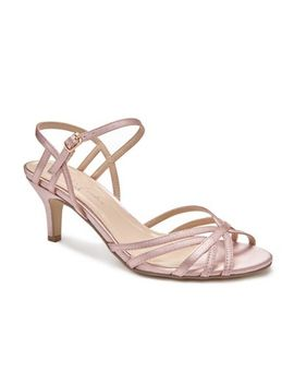 Pink By Paradox London   Pink 'harper' Mid Kitten Heel Ankle Strap Sandals by Pink By Paradox London