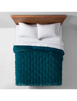 Velvet Tufted Stitch Quilt   Opalhouse™ by Shop Collections