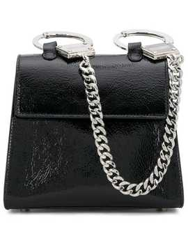 Hand Cuff Shoulder Bag by Moschino