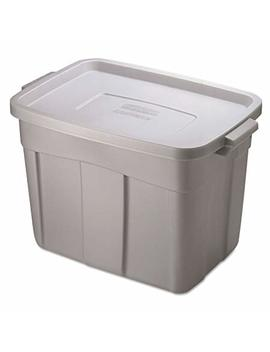 Rubbermaid Storage Tote, 18 Gallon, Grey by Rubbermaid
