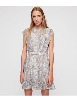 Evely Snake Dress by Allsaints
