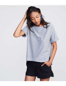 Lou &Amp; Grey Cuffed Terry Tee by Loft