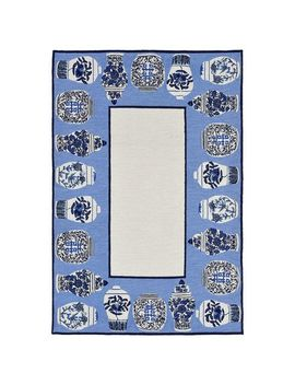 Ginger Jars Blue Rug by Pier1 Imports