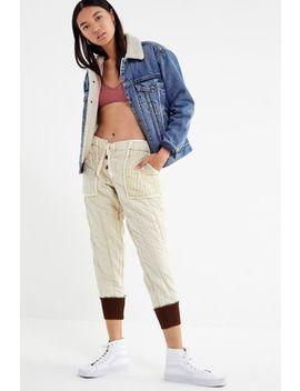 Vintage '60s Quilted Liner Pant by Urban Renewal