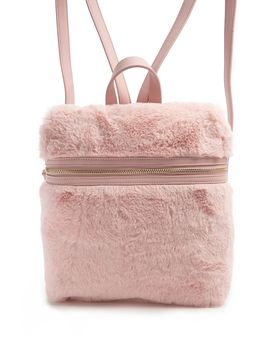 Faux Fur Backpack by Forever 21