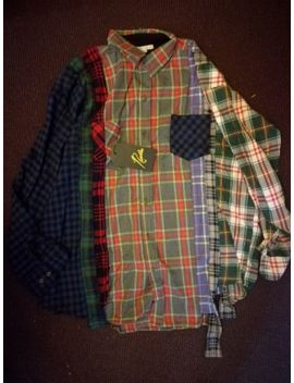 Rebuilt By Needles Flanell Hemd Größe L Size L Neu New Constructed Designer Raf by Ebay Seller