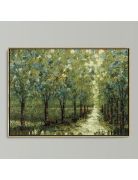 Spring Walkway Framed Canvas by Ballard Designs