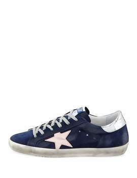 Superstar Suede Low Top Sneakers by Golden Goose