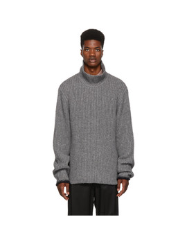 Grey Chucky Wool Turtleneck by 3.1 Phillip Lim